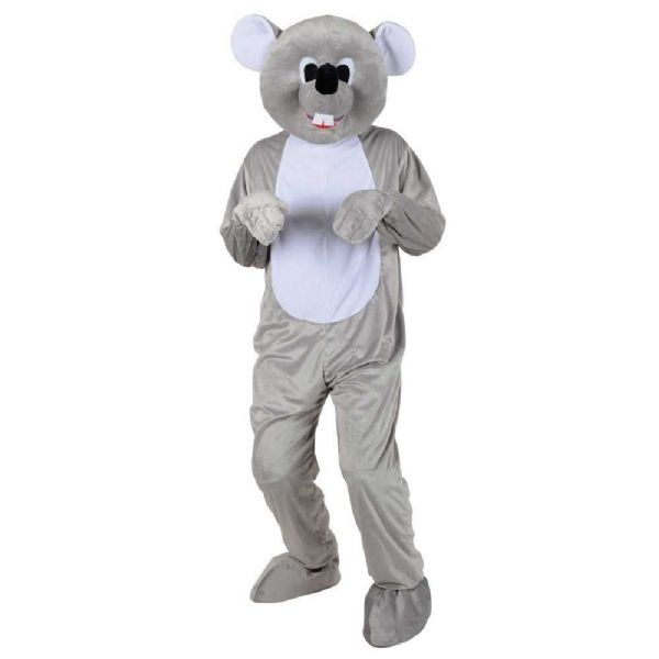 Adult Deluxe Mini Mascot Costume for Animals Creatures Fancy Dress Mens Ladies Cute Mouse